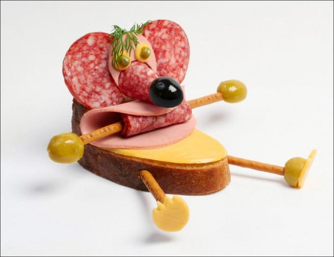 Красиво оформленные бутерброды являются настоящим украшением стола