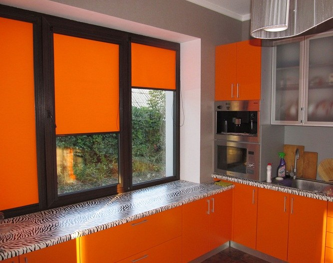 Кассетные рулонные шторы на пластиковые окна: тонкости выбора