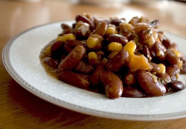 Лобио - популярное блюдо национальной грузинской кухни