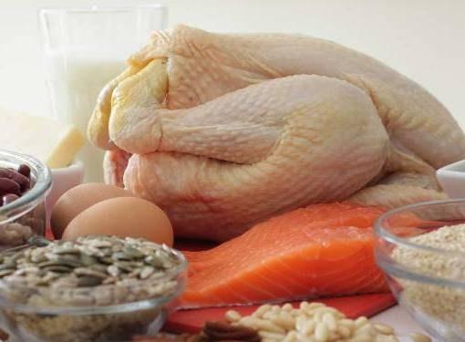 Содержание ценных белков в различных продуктах