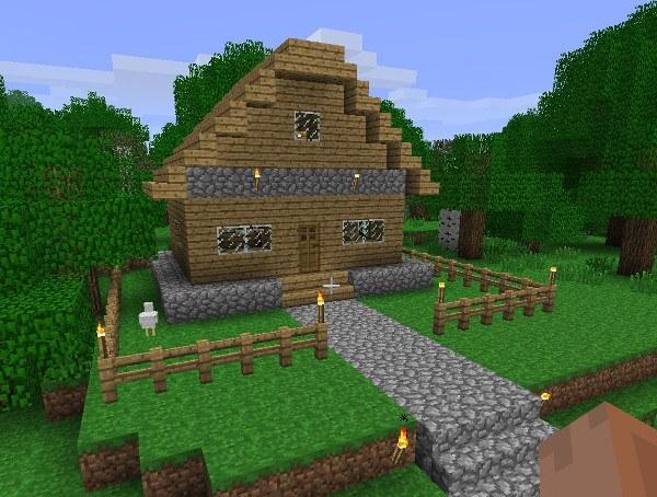 Дом в Minecraft