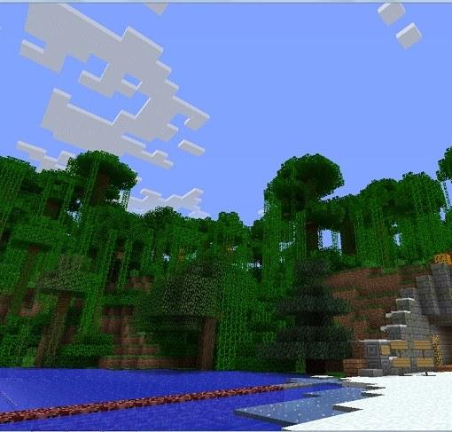 Бескрайний мир Minecraft