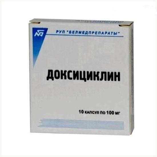 Доксициклин: инструкция по применению
