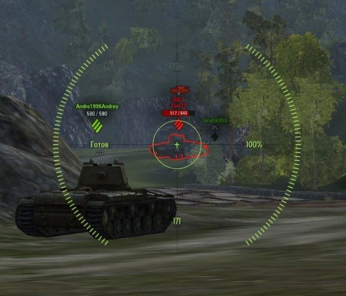Как целиться в world of tanks
