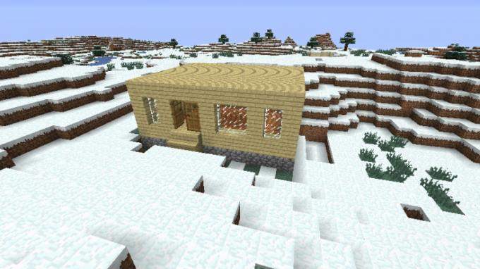 Как быстро построить дом в minecraft