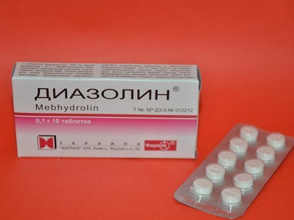 """""""Диазолин"""": инструкция по применению"""