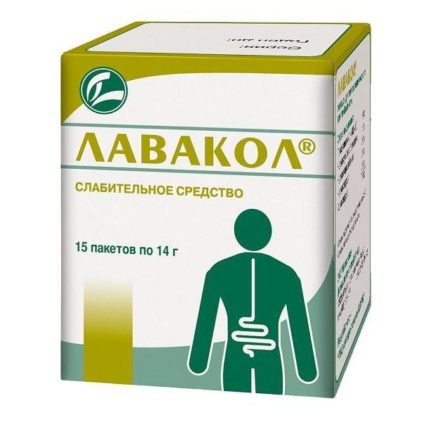 """Препарат """"Лавакол"""" для очищения кишечника"""