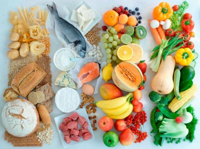 Раздельное питание благотворно влияет на самочувствие человека