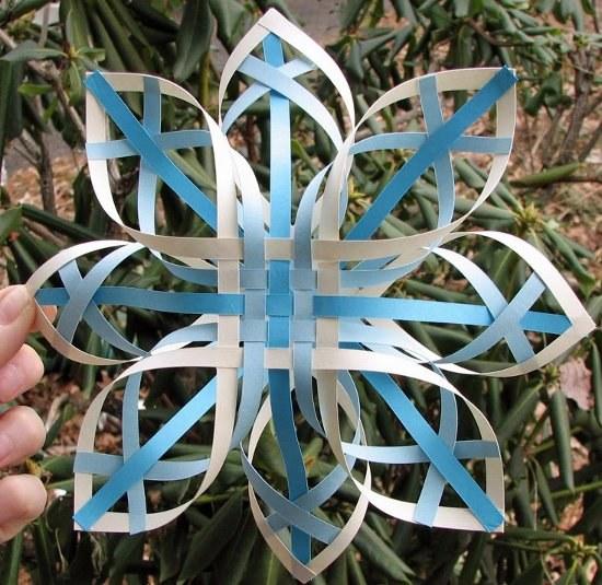 Изготовление снежинок своими руками фото 548