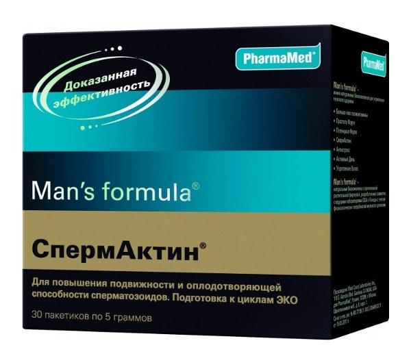 """""""Спермактин"""": инструкция по применению"""