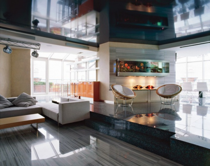 High-tech style in interior design