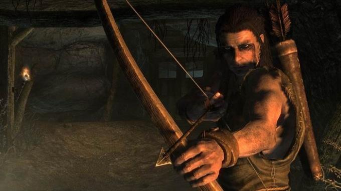 Как делать стрелы в skyrim