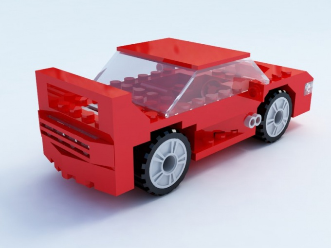 How to make a car out of LEGO