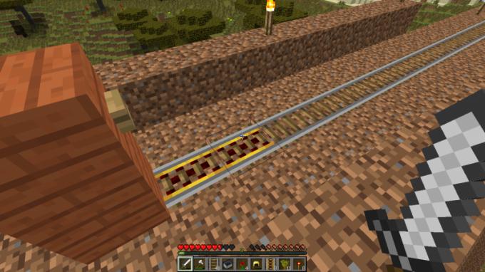 Minecraft как сделать электрические рельсы фото 993