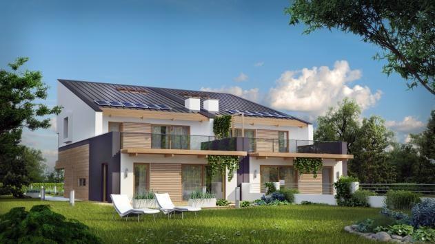 Проект дома для нескольких поколений должен иметь два раздельных входа