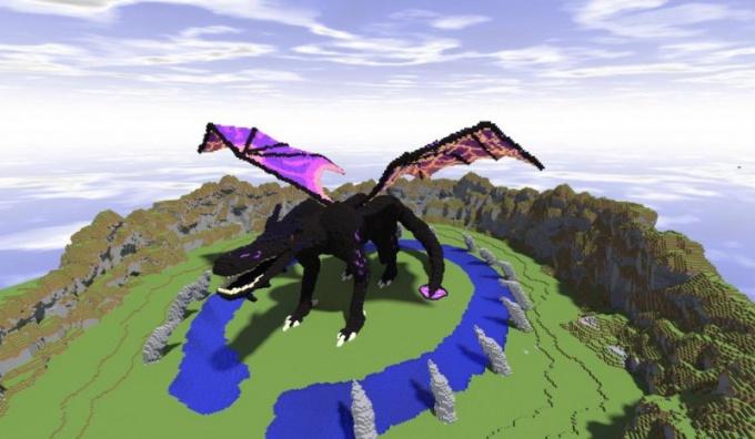 Как в майнкрафте сделать дракона в 2018 году