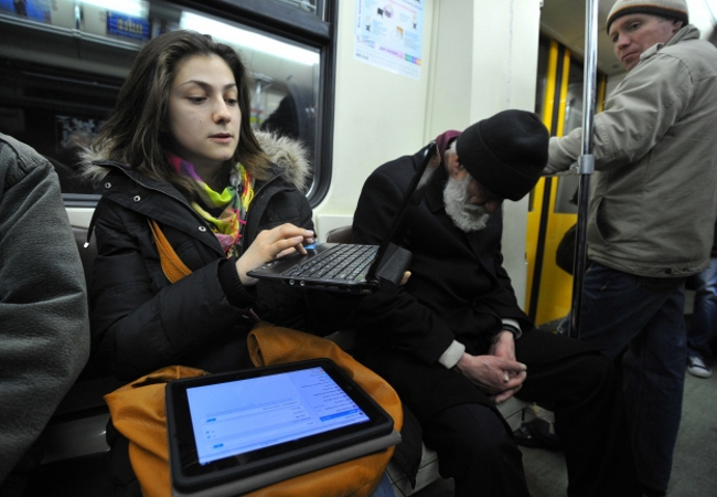 How to use Wi-Fi in transport