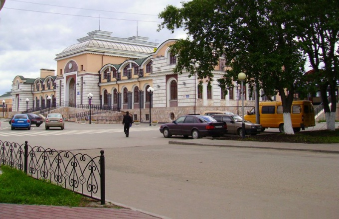 The station building