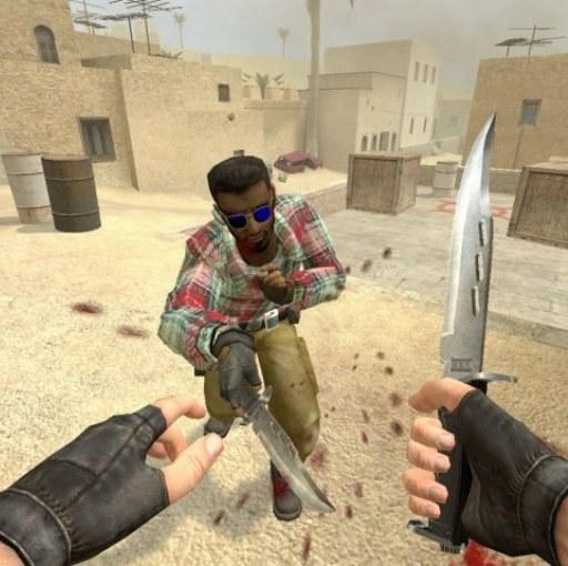 Как играть в КС ножом