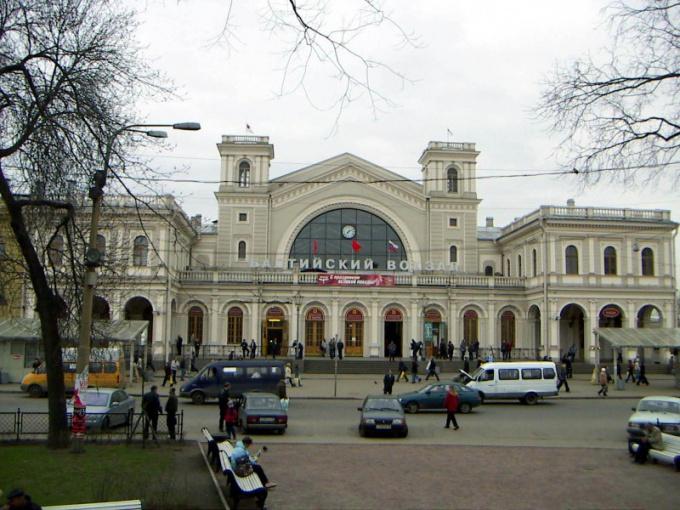 Как добраться до Балтийского вокзала