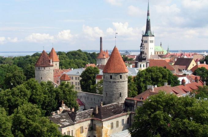 Таллин - один из самых интересных прибалтийских городов