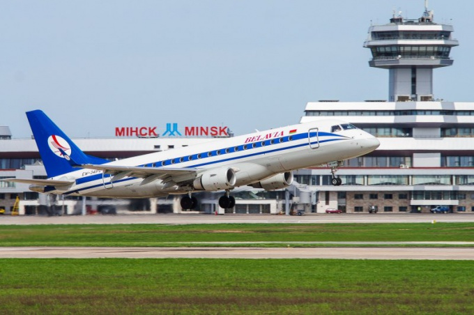 Как добраться из аэропорта Минска