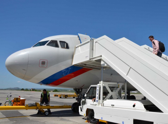 Mineralnye Vody is the largest in the South of Russia airport