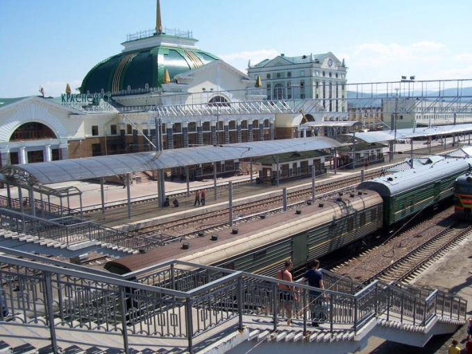 Krasnoyarsk train station