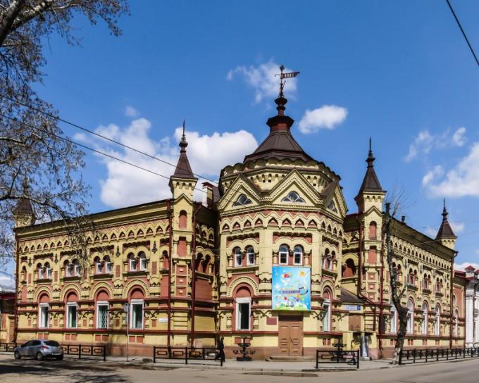 Один из охраняемых ЮНЕСКО памятников архитектуры Иркутска