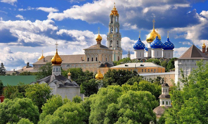 How to get to Sergius Lavra