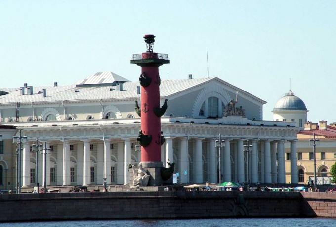 Vasilievsky island - one of the most beautiful places of Saint-Petersburg