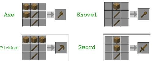 Деревянные инструменты
