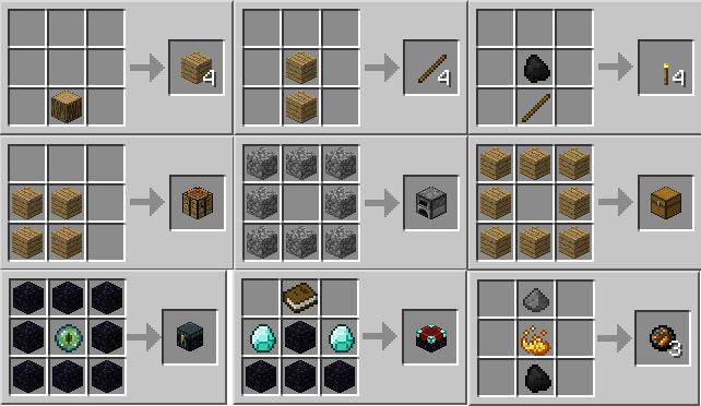 Minecraft как сделать каменный кирпич