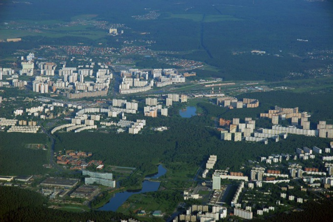 Zelenograd is the smallest district of Moscow.