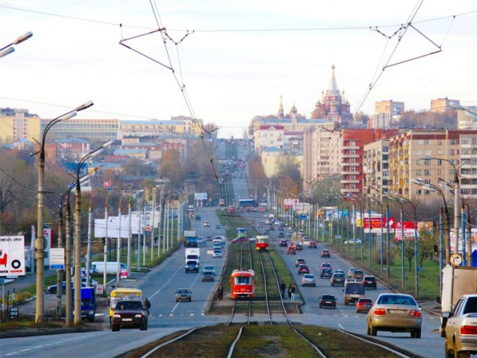 In Izhevsk the priority given to electric transport