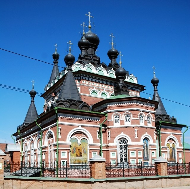 Temple of St. Seraphim of Sarov - one of the attractions of Kirov