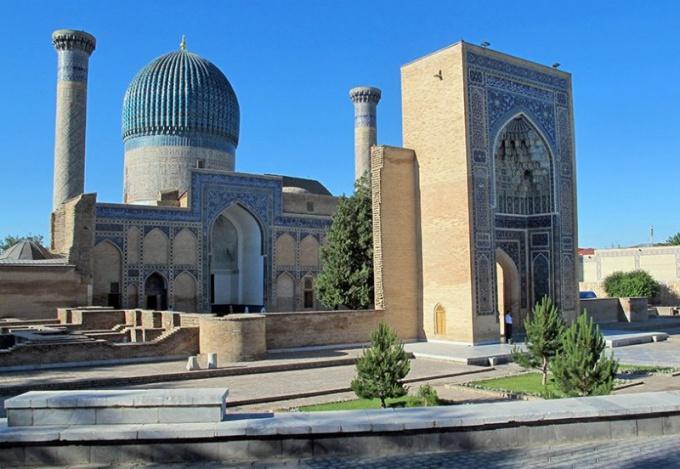 Самарканд мавзолей Амира Темура