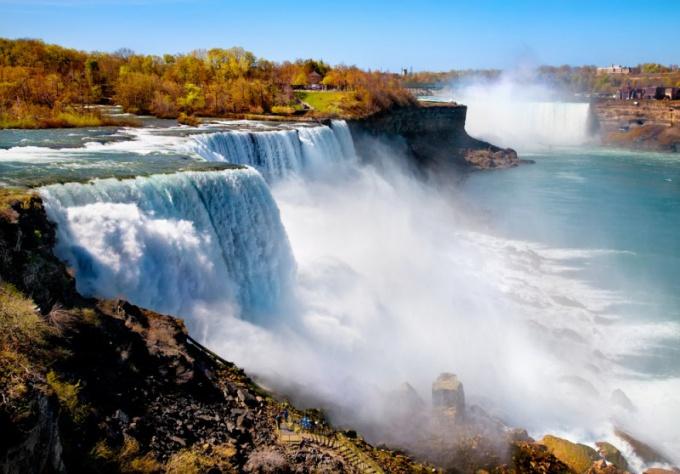 Как возник Ниагарский водопад