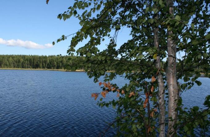Белое - одно из красивейших озер России