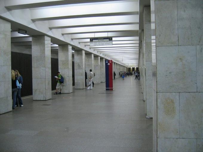 "Interior metro station ""Vladykino"""