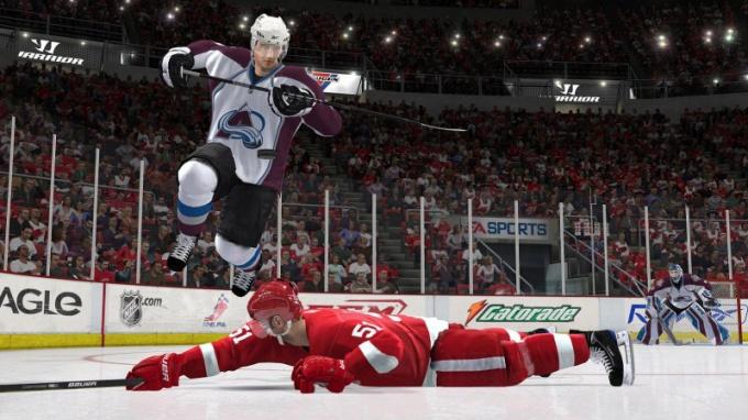Защитный финт в NHL