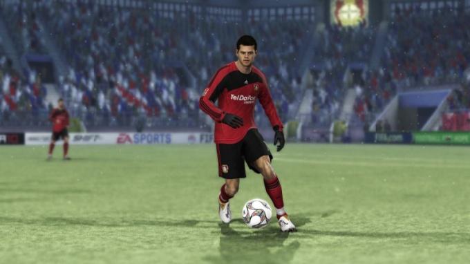 Как делать финты в FIFA 2010