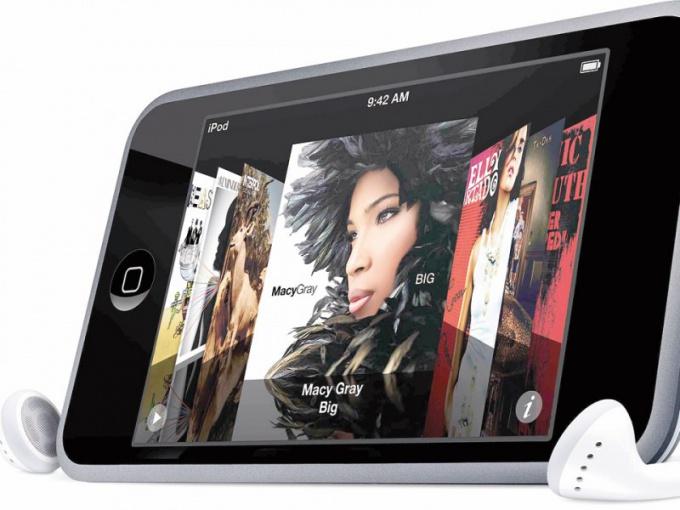 Как активировать ipod touch