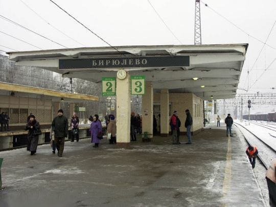 Platform Biryulevo-Passenger