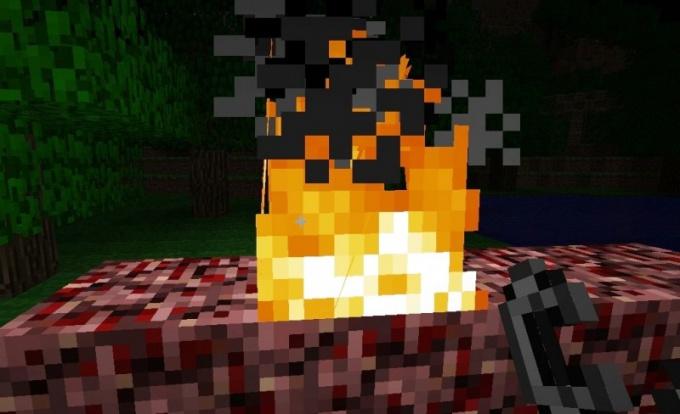 Огонь в Minecraft получается разными способами