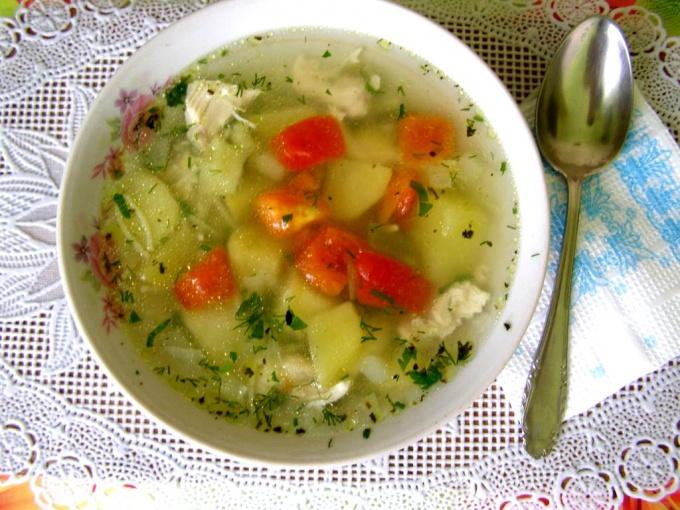 Как не поправиться зимой - кушайте супы