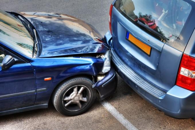 Как действовать при аварии