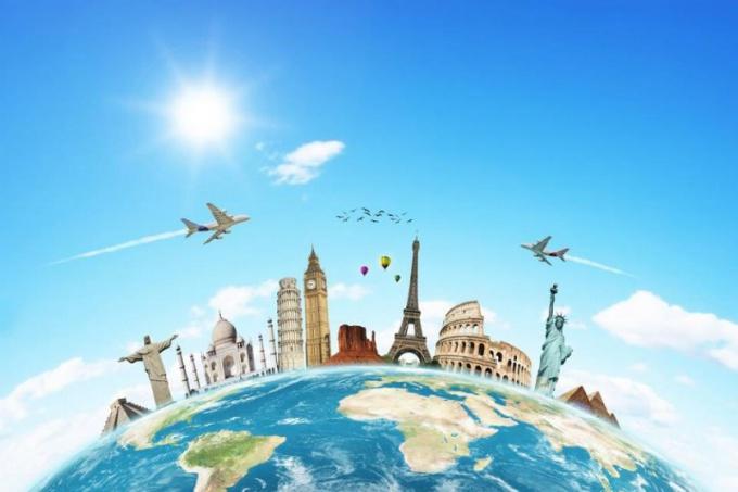 Путешествие - лучший способ открыть для себя мир!