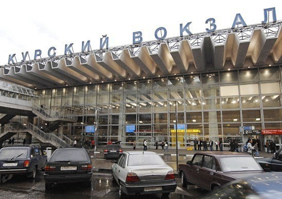 Kursk station is the largest station in Moscow