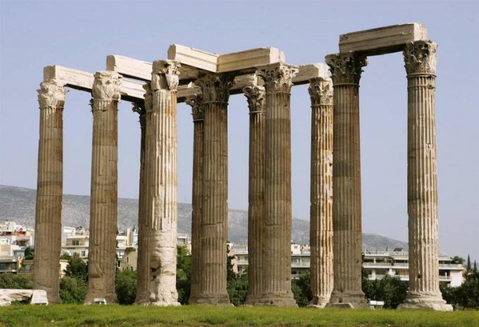 Как выглядели греческие колонны